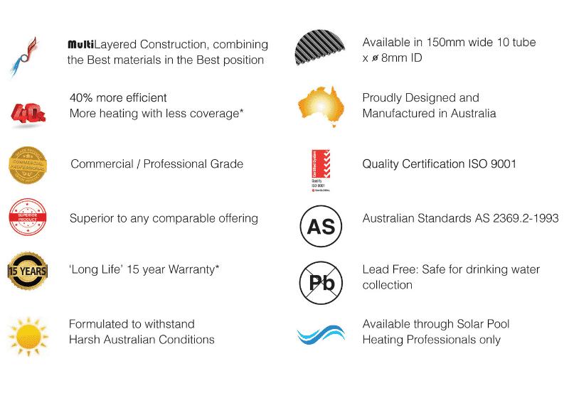 Nanotek Solar Pool Heating Benefits